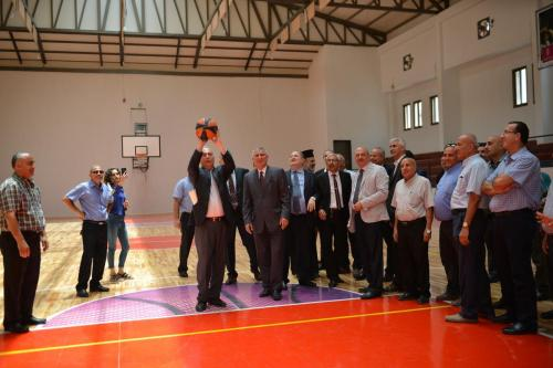Opening of Said Khoury Sports complex